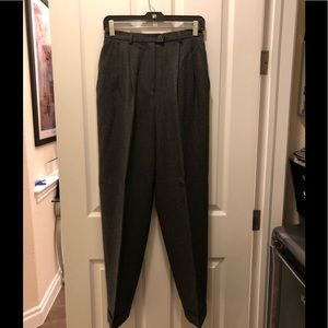 Jones New York Dark Gray Wool Pants